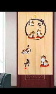 In Stock Japanese Door Curtain Partition FengShui