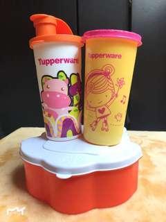 #bersihbersih Paket Tupperware Anak 3pcs