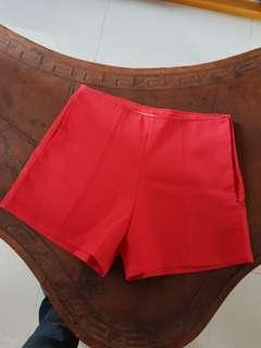 BN red shorts