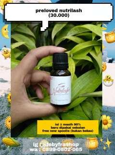 #bersihbersih Preloved nutrilash (eyelash & eyebrow serum)