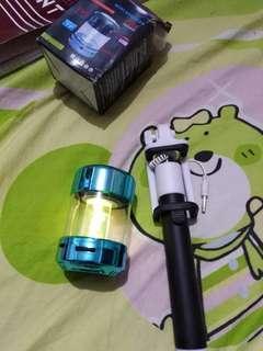 Bluetooth speaker & monopod