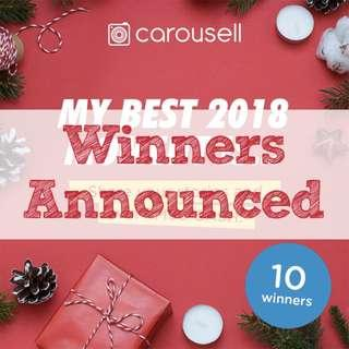 [GIVEAWAY CLOSED] My Best 2018 Moment Is...