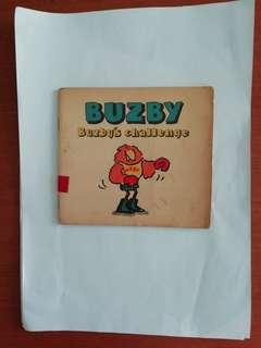 Severn house Paperbacks. Buzby. Buzby's challenge. Children's book. Illustrations by Mary Roberts.