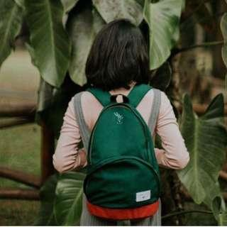 Tas gendong Svggest backpack rabbit green
