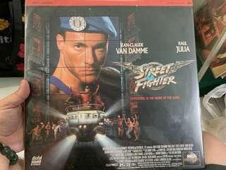Street Fighter - laserdisc collectibles