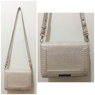 Ever New White Crossbody Sling Bag