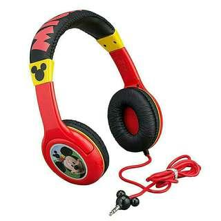 Kids Headphones Headset Mickey Mouse