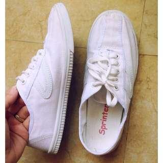 *Repriced! Sprinter White Shoes Size 6
