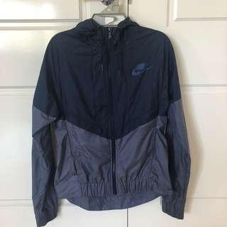 Nike Navy Blue Windbreaker