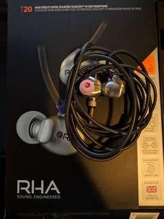 接近全新 - 雙動圈單元 RHA T20