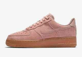 Women's Nike Airforce 1 in Particle Pink RRP $170