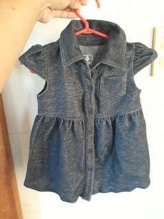 Orig Old Navy Baby Dress(NB-3 mnths)