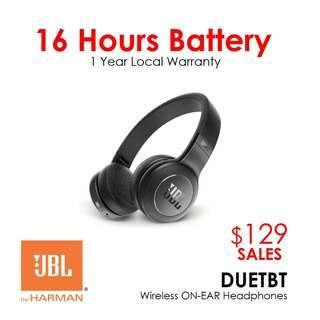 JBL DUETBT Wireless On-Ear Headphones