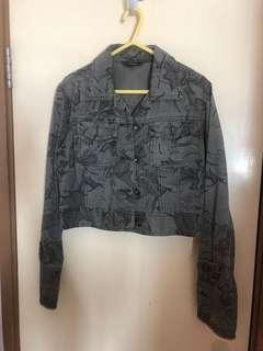 Woman's 100% cotton jacket