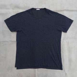 GU by UNIQLO POCKET TEE GREY