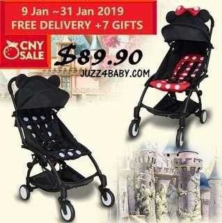CNY Sales Free delivery travel cabin stroller