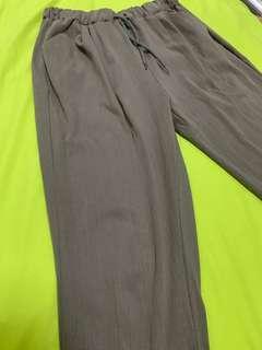 Grey joggers pants