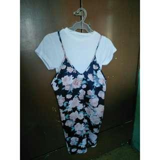Romper Dress (Floral)