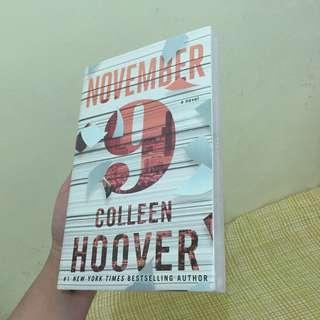BRAND NEW - Colleen Hoover November 9