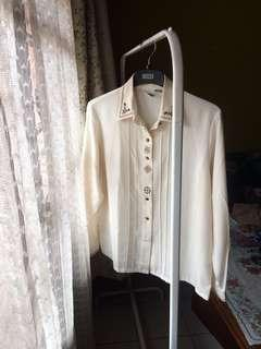 WARDROBE BLOUSE /KEMEJA Bordir Asli