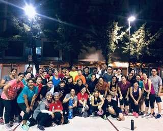 Outdoor Group Fitness