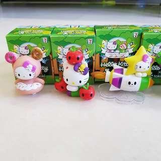 Hello Kitty 7-11 Tokidoki Figurines