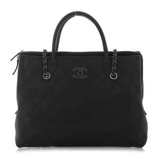 Chanel Large Caviar Shopping Tote