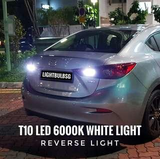 High quality bright white reverse LED light. Licence plate light. Cabin light. Pole light for Honda civic FC. Mazda 3. Hyundai Elantra. i30 and all other car makes