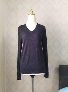 Uniqlo Pure New Wool V Neck