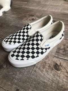 f5d6f572e1 Vans Vault Checkerboard Slip On