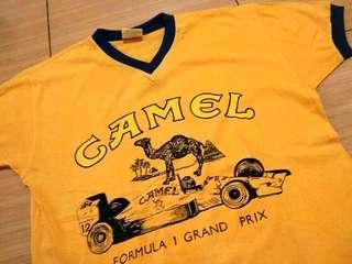 Ringer Tee Camel F1 Grand Prix