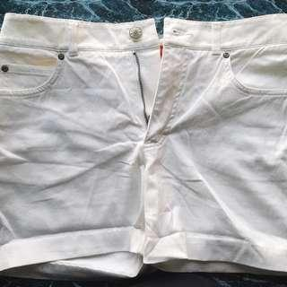 esprit white shorts