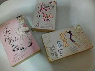 3 Books for 200.00