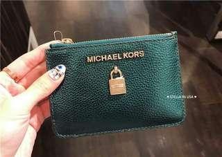 🚚 Michael Kors 新款鎖頭票卡鑰匙小錢包