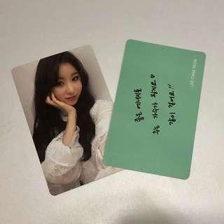 IZ*ONE LEE CHAEYEON OFFICIAL PHOTOCARD