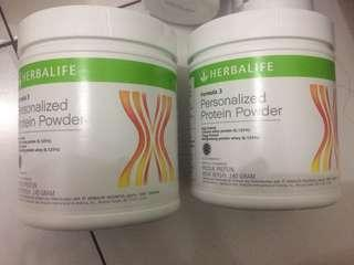 Herbalife personalized protein powder (PPP)