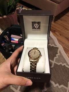 Authentic Anne Klein Gold Watch