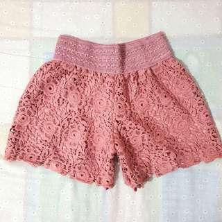 HW Garterized Shorts