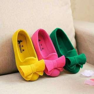 Sepatu Anak Perempuan Falt Shoes Import Uk 26