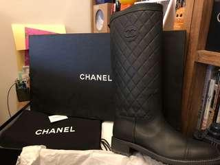Chanel Boots 39 size 全新