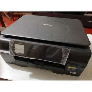 Brother Printer MFCJ285DW Wireless Color Photo Printer with Scanner, Copier and Fax