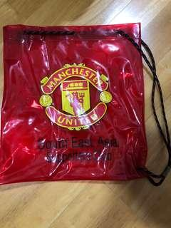 Manchester United drawstring bag plastic(south east Asia supporters club)