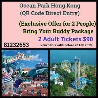 Ocean Park Hong Kong  - Exclusive Offer for 2 People