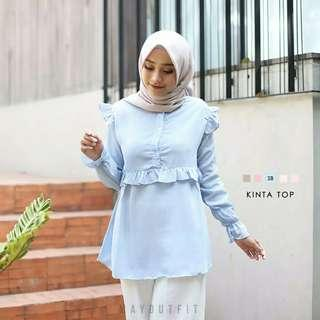 Kinta Top (soft blue)