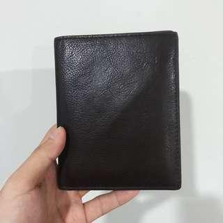 Leather Passport Case Fossil