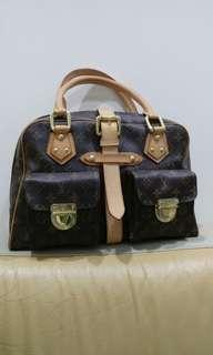 🚚 LV 真皮肩背手提包Genuine Leather handbag