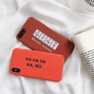 [po] #066 minimalistic chemistry / hahahaha phone case