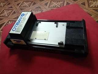 Citibank swap card vintage