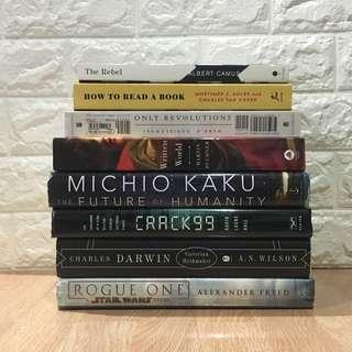 Assorted Books as low as 350