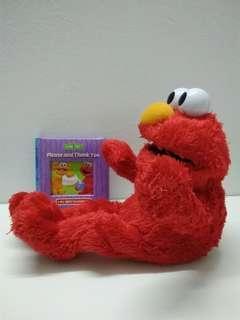 123 Sesame Street LOL Elmo Plush, Free Board Book